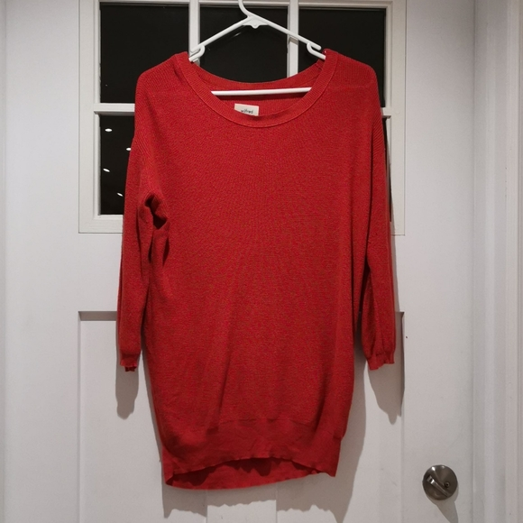 Red Wilfred sweater